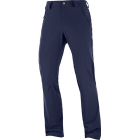 Salomon Wayfarer Straight LT Pants Men night sky